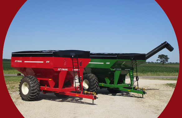 E-Z Trail Farm Wagons | Arthur, IL